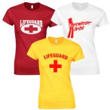 LADIES LIFEGUARD T-SHIRTS